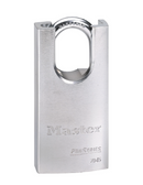 Master Lock No.7045 - 1-3/4in (44mm) Wide ProSeries Shrouded Solid Steel Rekeyable Pin Tumbler Padlock