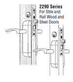 2290 Series - Complete Deadbolt/Deadlatch Package