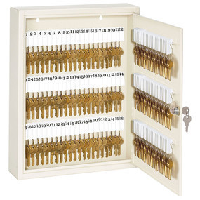 Commercial Key Cabinet, 120 Key Capacity - 7126D