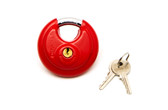 "Chinrose® Coloured Stainless Steel 2¾"" (70mm) Heavyweight Disk Lock"