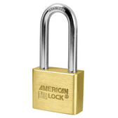 American Lock Solid Brass AL51 Blade Cylinder Padlock