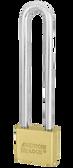 American Lock Solid Brass AL55 Blade Cylinder Padlock