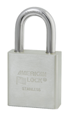 American Lock Solid Stainless Steel A5400 Padlock