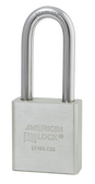 American Lock Solid Stainless Steel A6401 Padlock