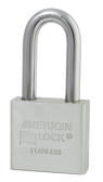 American Lock Solid Stainless Steel A5461 Padlock
