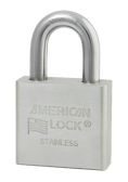 American Lock Solid Stainless Steel A6460 Padlock