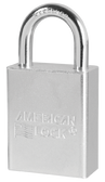 American Lock Solid Steel A5100 Rectangular Padlock