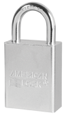 American Lock Solid Steel A6100 Rectangular Padlock