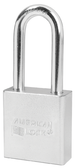 American Lock Solid Steel A5201 Rectangular Padlock