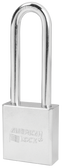 American Lock Solid Steel A5202 Rectangular Padlock
