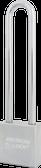 American Lock Solid Steel A6205 Rectangular Padlock