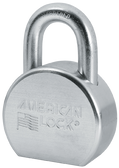 American Lock A702 Solid Steel Round Padlock