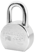 American Lock A706 Solid Steel Round Padlock