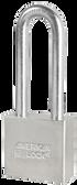 American Lock A52 Solid Steel Padlock