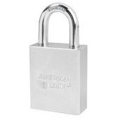 American Lock A7200 Solid Steel Tubular Padlock (SS)