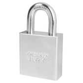 American Lock A7260 Solid Steel Tubular Padlock (SS)