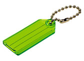 Lucky Line 10100 Key Tag with Ball Chain
