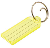 Lucky Line 123 Key Tag with Tang Ring (No.123)