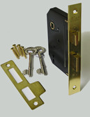 Bit Key Lock, Satin Brass (214-04-51)