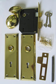 Bit Mortise Lockset - Keyway 2B