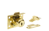 "Half Mortise Lock 7/8"" (22 mm) - Spring Latch"