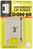 "Don-jo EL 102, 2-1/4"" Exended Lip Strike"