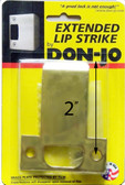 "Don-jo ETS 102 Extended Lip Strike 2-3/4"" x 2"""