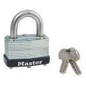 Master Lock No.500KA - Laminated Steel Warded Padlock, Keyed Alike