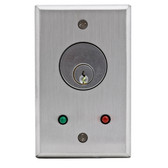 Camden CM-1100 Key Switches  **CM-1100 photo shown with optional LED*  *Mortise Cylinder Sold Separately**