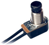 Camden CM-1000/30 SPST momentary contact switch, n/o 6a @ 125v ac, 3a @ 30v dc