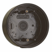 Camden CM-47S SURFACE, ROUND, Standard Depth, provision for wireless. Flame and Impact resistant black polymer