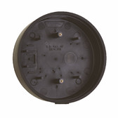 Camden CM-69S SURFACE, ROUND Standard Depth, provision for wireless. Flame and impact resistant black polymer