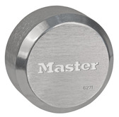 Master Lock 6271 Hidden Shackle Rekeyable Puck Padlock