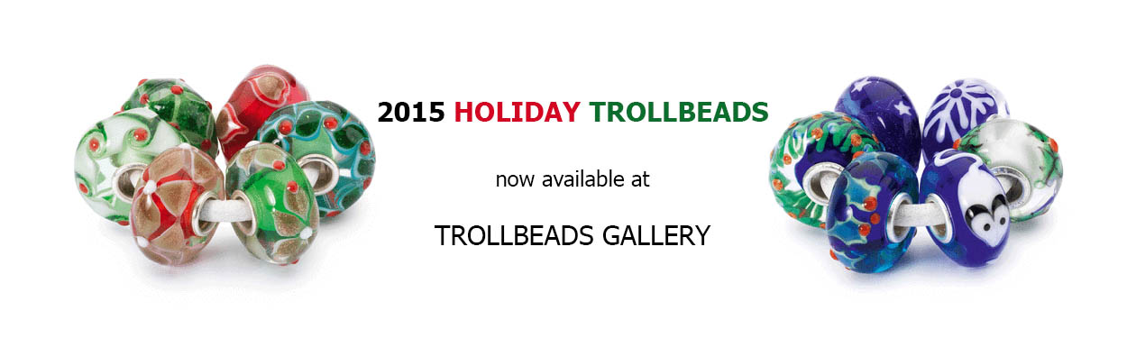 2015 Holiday Trollbeads at trollbeads Gallery