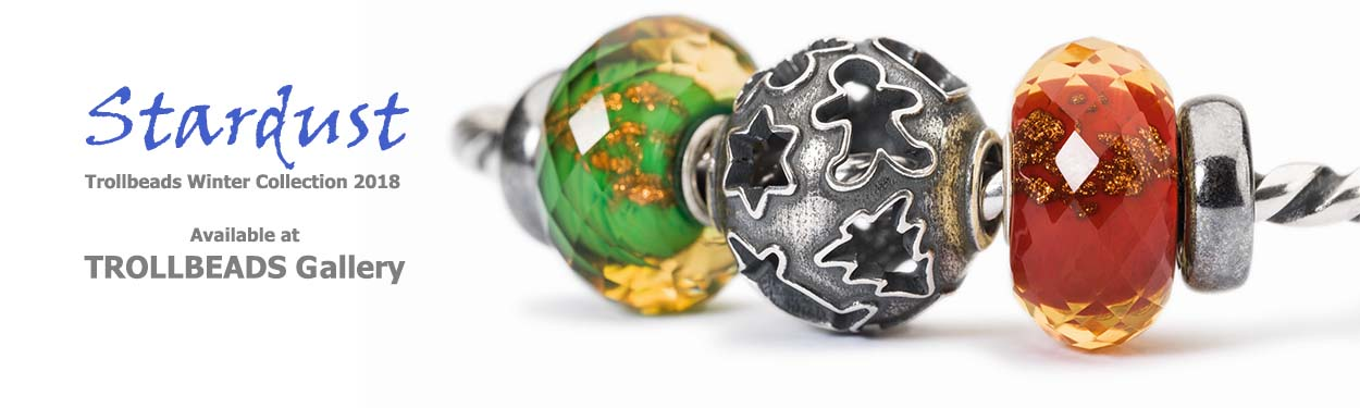 Stardust 2018 Trollbeads Winter Collection