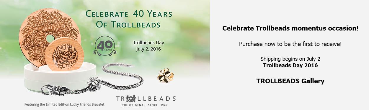 Trollbeads 40th Anniversary