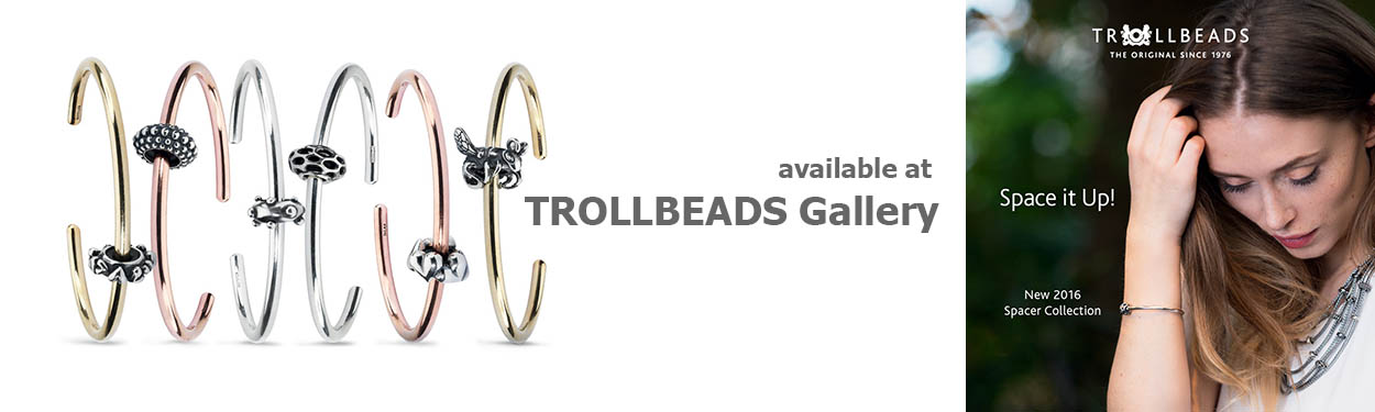 New 2016 Trollbeads Spacer Collection at Trollbeads gallery