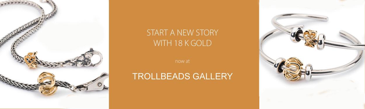 18 k Trollbeads at Trollbeads Gallery