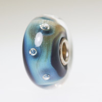 Azure Bubbles Bead With A Twist