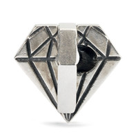 Diamond in the Rough Silver Trollbeads