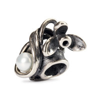 Snowdrop of January Silver Trollbeads