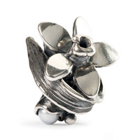 Narcissus of December Silver Trollbeads