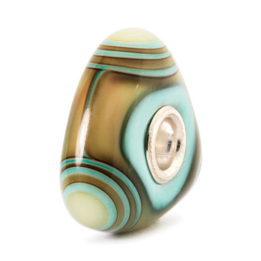 Aqua Edge Triangle Trollbeads