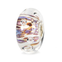 Purple Rippling Bubbles Trollbead