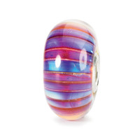 Aurora Stripe Glass Trollbeads