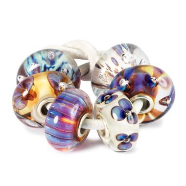 Purple Heaven Kit Glass Trollbeads