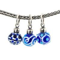Blue Ornaments Trollbeads