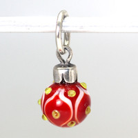 Red Christmas Ornament 1