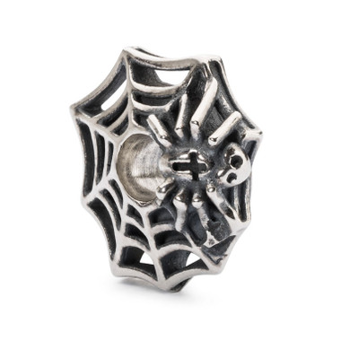 Wicked Spider Web Silver Trollbeads
