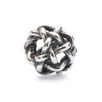 Starry Night Bead, Silver Trollbeads